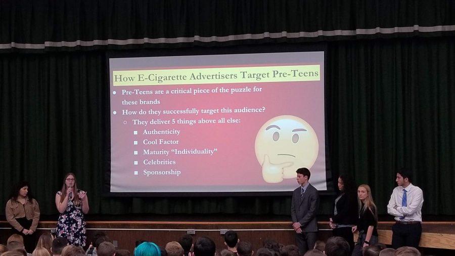 Wayne Valley Student Presentation to 8th Graders