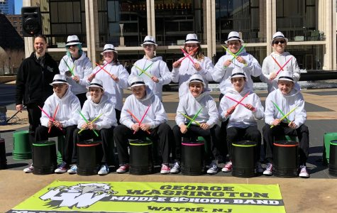 Bucket Drumming at the Lincoln Center