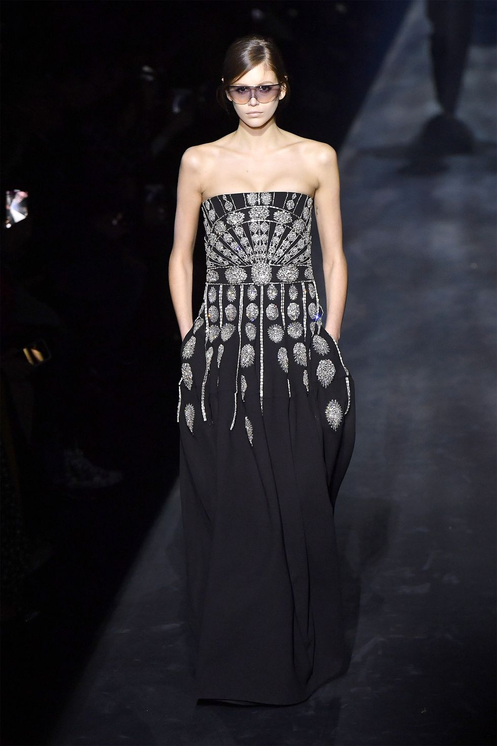 This is the elegant Givenchy dress.