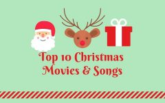 Top Ten Christmas Movies & Songs